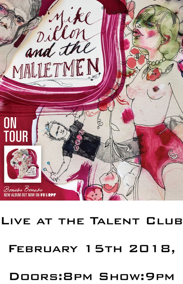 Mike Dillon and The Malletmen Live at the Talent Club February 15, 2019
