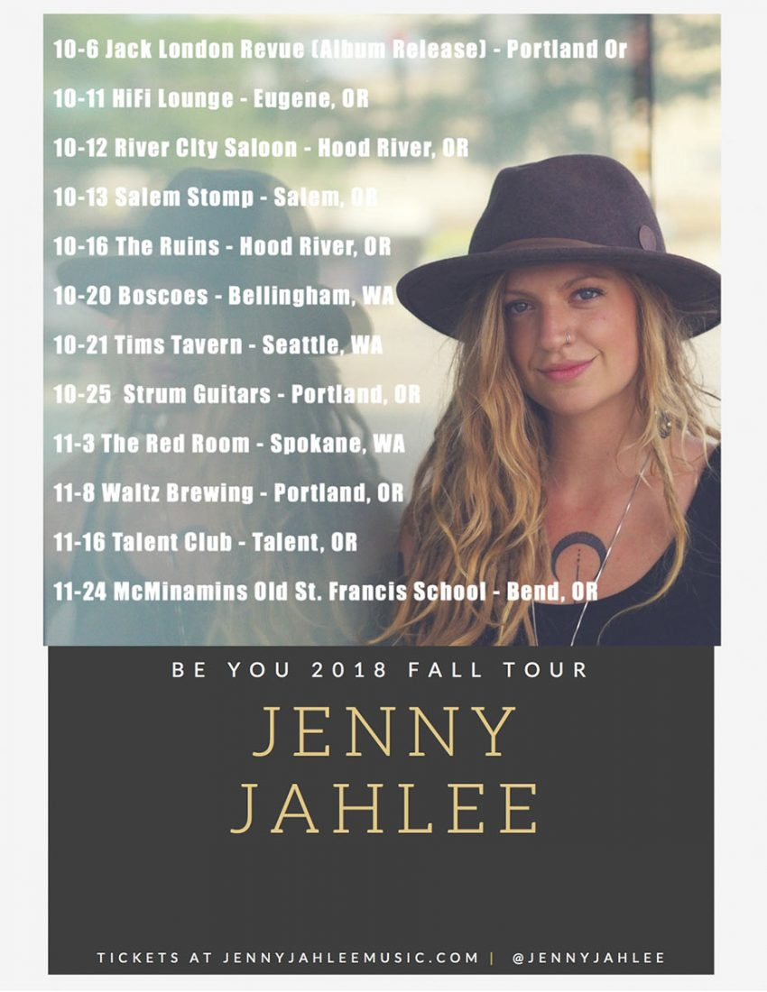 Jenny Jahlee performs live at the Talent club on Friday November 16, 2018