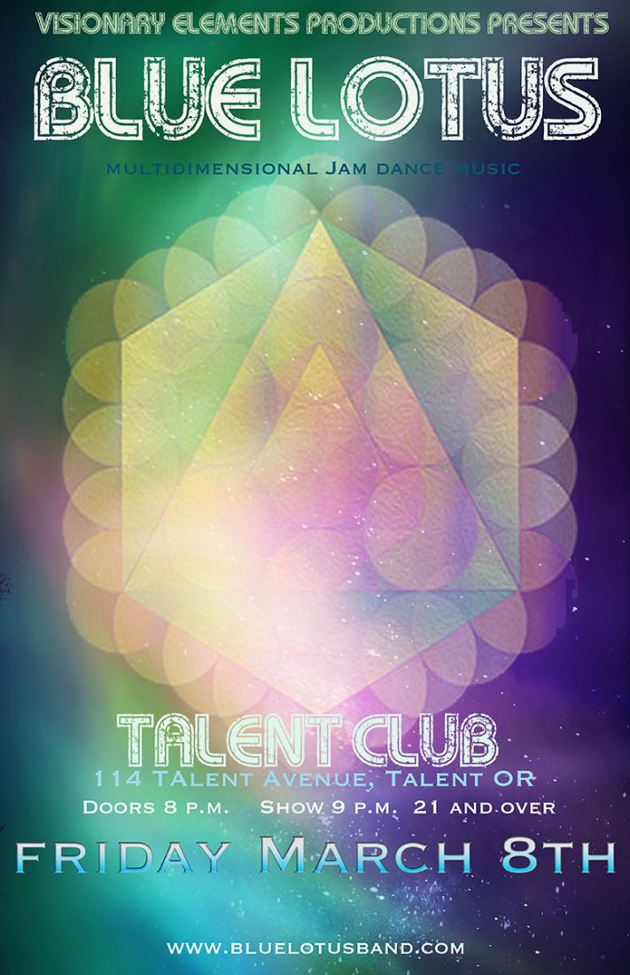 Blue Lotus plays live at the Talent Club on March 8, 2019