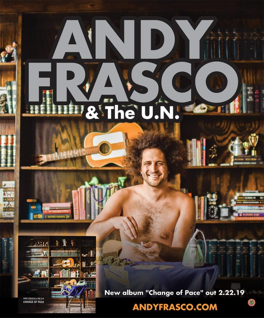 Andy Frasco and the UN live at the Talent Club Monday April 8, 2019