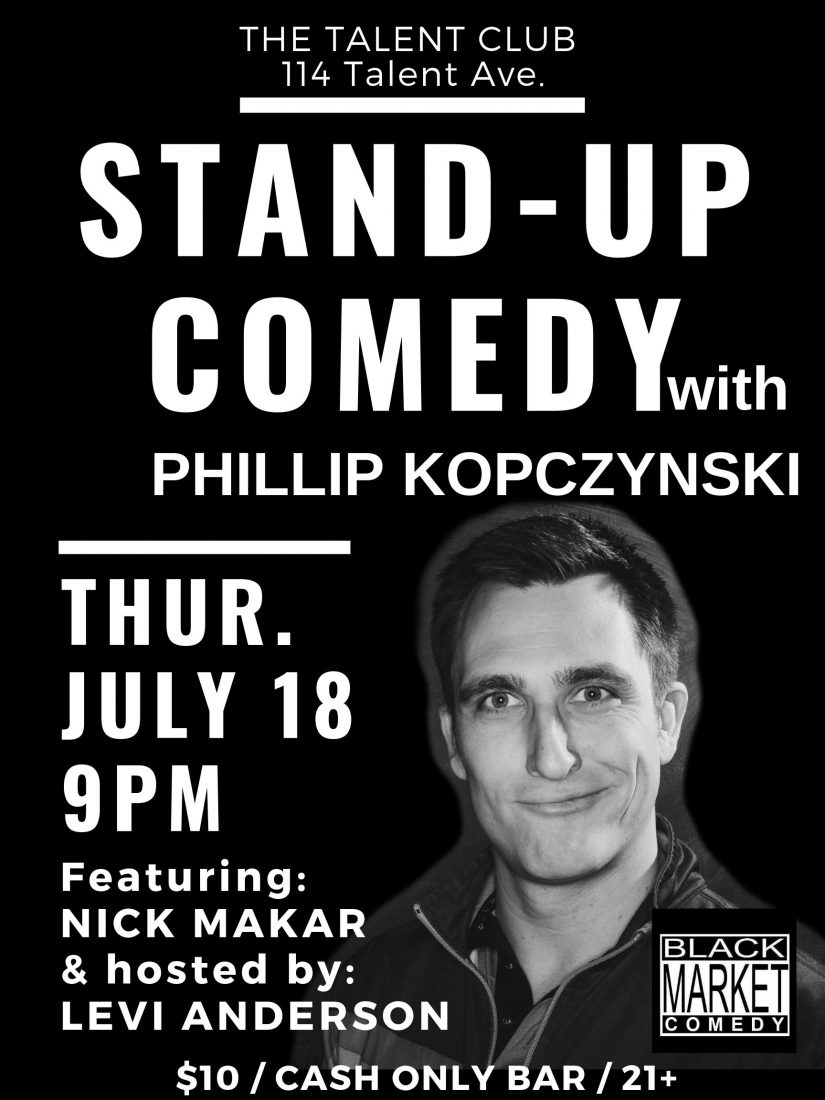 Stand Up Comedy with Phillip Kopczynski