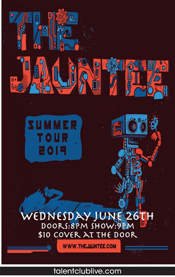 The Jauntee plays live at the Talent Club on Wednesday, June 26 at 9 PM